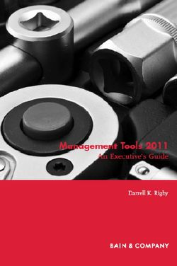 Bain management tools
