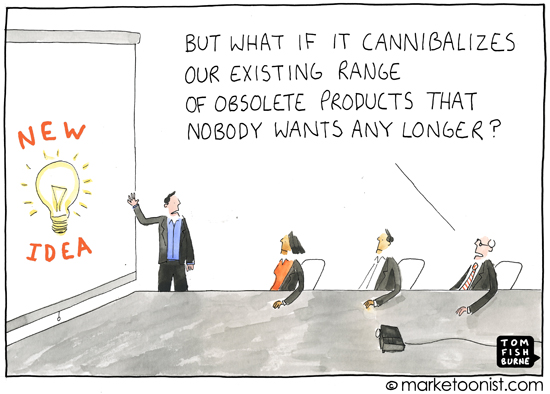 Cannibalize